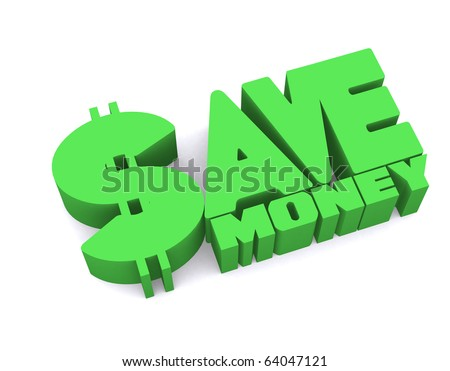 3d save money icon