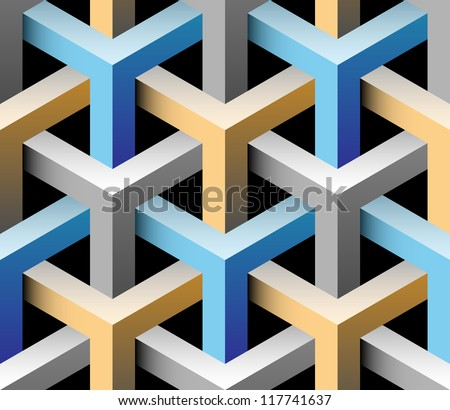 3d seamless background illustration