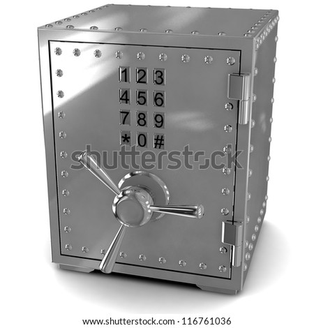 3D Security metal safe