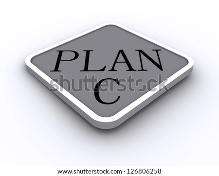 3D Signs word: Plan