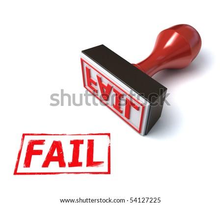 3d stamp fail
