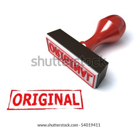 3d stamp original