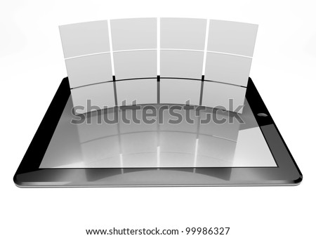 3d tablet pc and multi screen gallery
