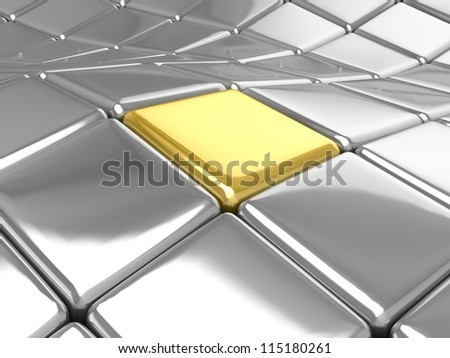 3D tiles background