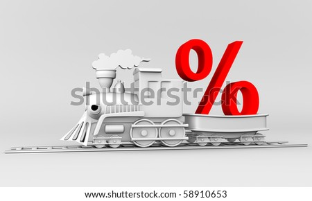 3d train with the car lucky % discount