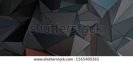 Stock Photo 3d Triangles, abstract  background. Design wallpaper.