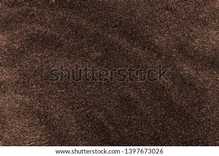 Dark brown abstract background. Blank for design, free space for text. #1397673026