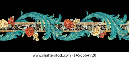 Decorative elegant luxury design.Design for cover, fabric, textile, wrapping paper