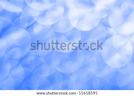 Defocused light dots bokeh background