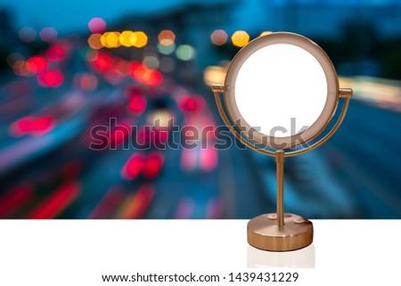 360 degree rotating mirror Reflection system Natural sky #1439431229