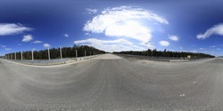 360 Degrees HDRI spherical Panorama