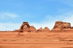 Delicate Arch Viewpoint, Arches National Park, Utah, USA