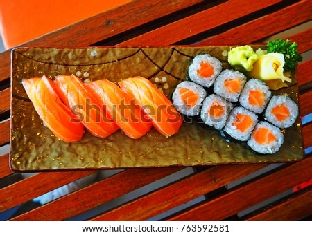 Delicious japanese food #763592581