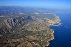 Denia with Mongo mountain - Valencian Community -Spain-