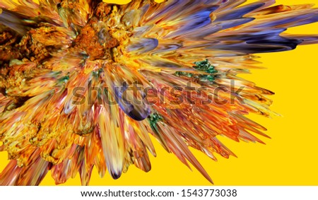 Design produced from   Specialist Macro and 3D rendering Photography of Rocks, Minerals , Fossils and other natural materials, producing these stunning Images for use as Wall Art, Background, and