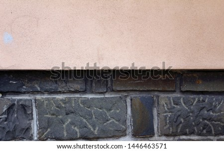 Detail in architecture, detail of structure