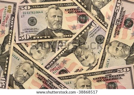 50 Dollar Banknotes