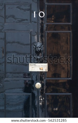 10 Downing Street in London, UK #562531285