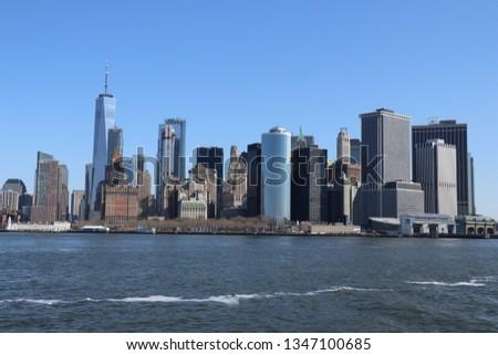 Downtown NYC Skyline