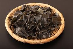 Dry cut kelp from Iwate prefecture, Japan
