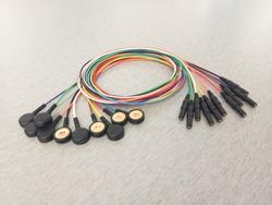 ECG electrodes line Electroencephalography procedure,ECG equipment ECG electrodes