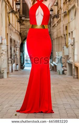 Elegant lady #665883220