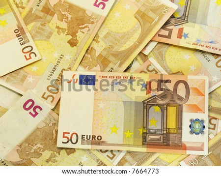 50 euro background
