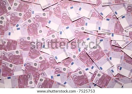 500 euro background souvenir