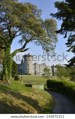 famous 5 star dromoland castle hotel and golf club in ireland