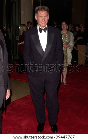 17FEB2000:  Actor HARRISON FORD at American Film Institute Gala where he received the AFI Lifetime Achievement Award.  Paul Smith / Featureflash