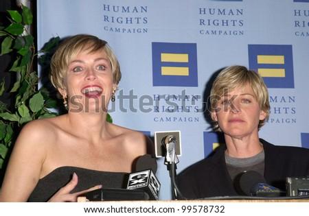 Sharon Stone on ellen