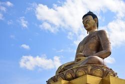 169 feet tall bronze Buddha statue in the world.Thimphu,Bhutan