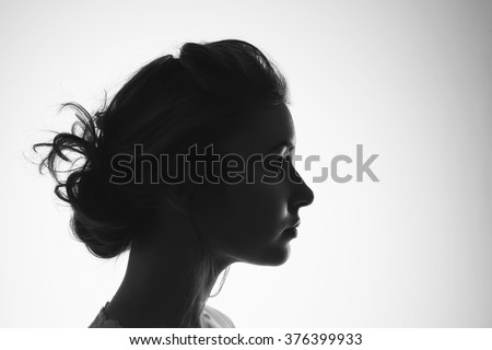 Female silhouette #376399933