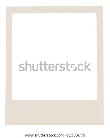 film blank ,isolated on white with clipping path