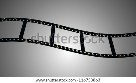 film strip background - stock photo