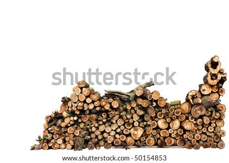 . firewoods - stock photo