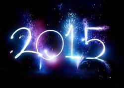 2015 Fireworks New Year Display celebrations