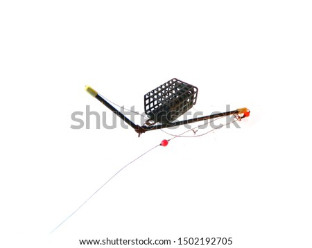 fishing tackle isolated on white background #1502192705