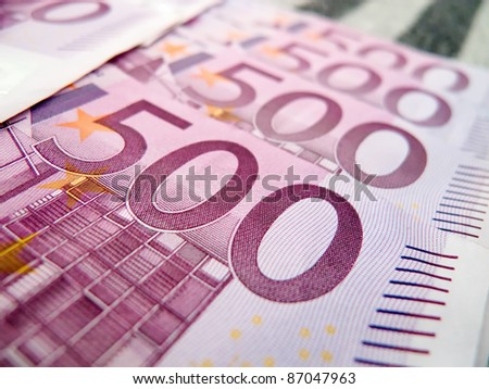 500 five hundred euro notes