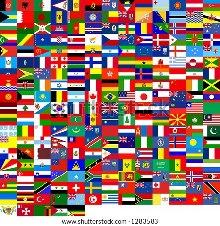 240 flags of the world. It's good for texture 3D.
