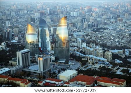 Flame Towers,Baku