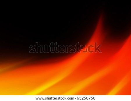 flames abstract background