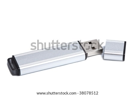flash drive isolated