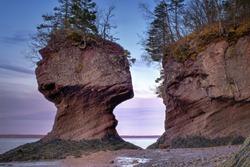 Flowerpots, Hopewell Rocks, New Brunswick, Canada