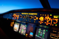 Flying 34000 feet high in an Airbus A320