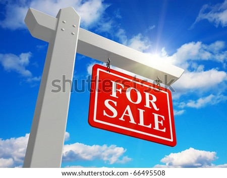"""For sale"" real estate sign"