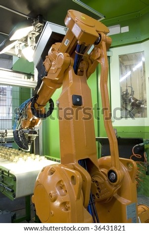 fragment cnc milling machine with robot