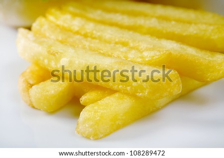 French Fries.Shallow depth-of-field.