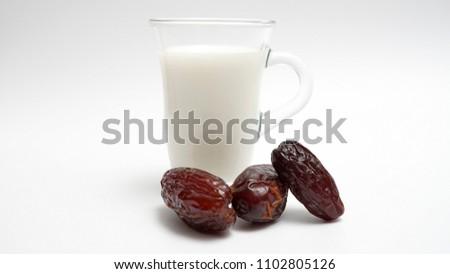 Milk and dates sunnah
