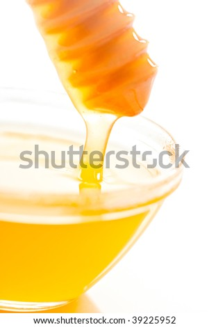 Fresh honey - stock photo